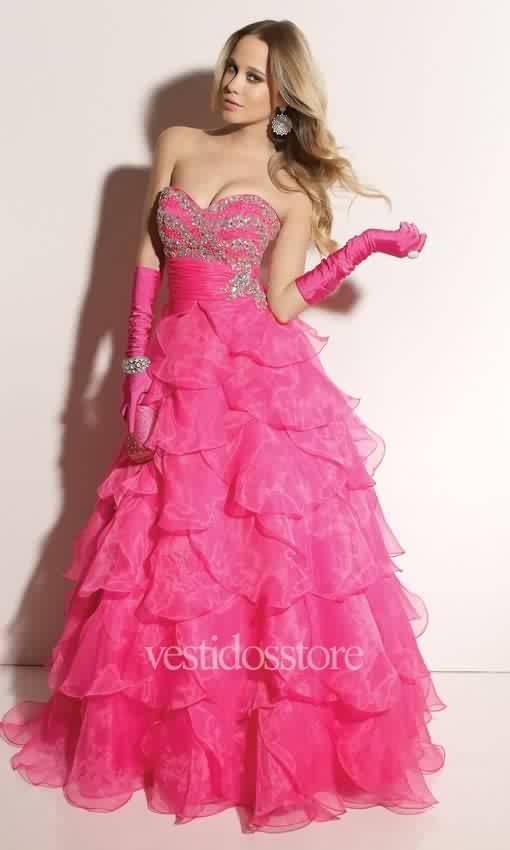 29 best Vestido para fiesta o de 15 años images on Pinterest | Cute ...