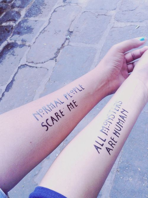 American Horror Story Tattoos
