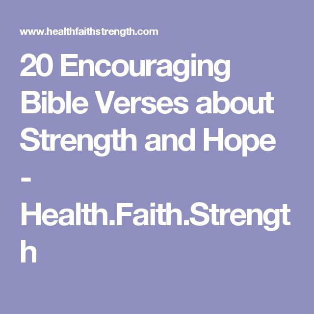17 best ideas about Bible Verses About Strength on ...