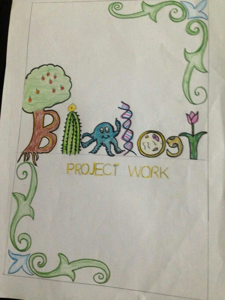 biology project cover