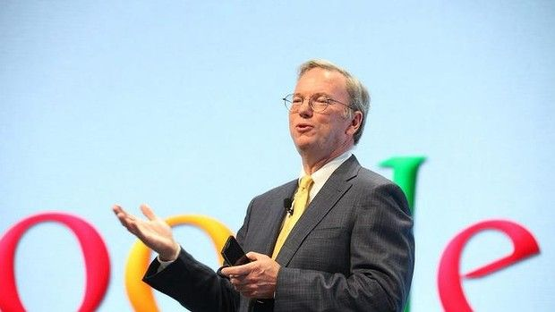"""The Google formula for success: """"Every major corporation needs a software strategy, needs a data strategy. If not, then you have no real strategy."""": Former Google chief Eric Schmidt is one of the authors of the new book."""
