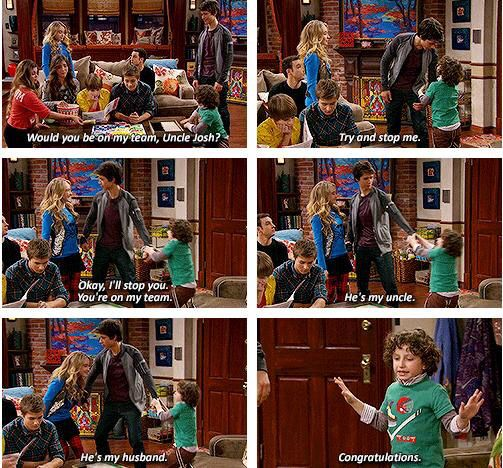 GMW - Uncle Josh. This was so much funnier to watch. August is a such a cute little actor.