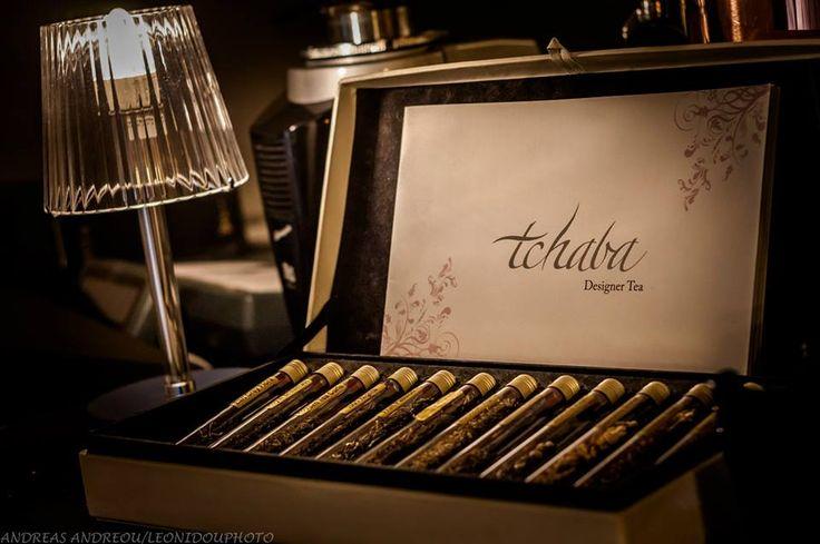 Tchaba designer tea in Gallery Café