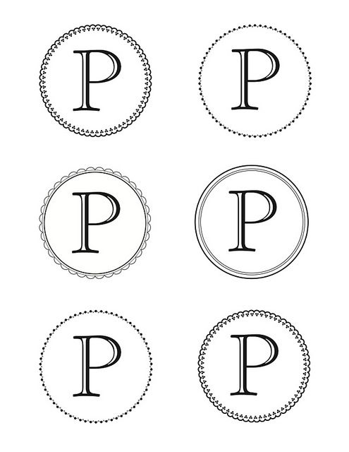 link for martha stewart printable letters - Print Out Letters