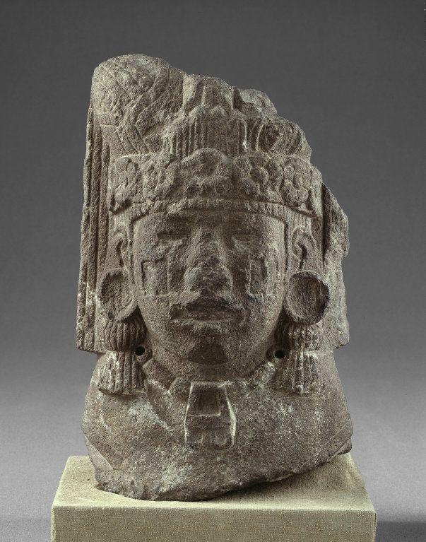 ztec (Mexica) Tenochtitlan, Mexico Head of Xilonen, the ...