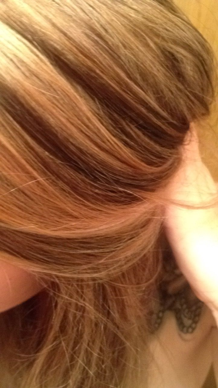Blonde baylage color ash brown lowlight highlight texture dimensional