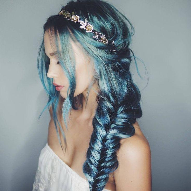 Mermaid Hairstyles mermaid meets khaleesi braid on elise inspired by theconfessionsofahairstylist Find This Pin And More On Mermaid Hair By Doctoredlocks