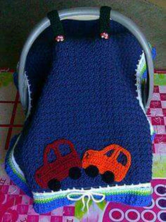 Woven blanket for baby