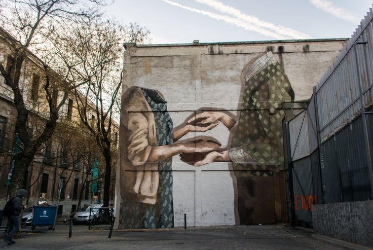 Streetart News Wall Hyuro Argentina A Madrid
