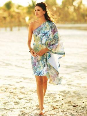 Super easy one shoulder dress