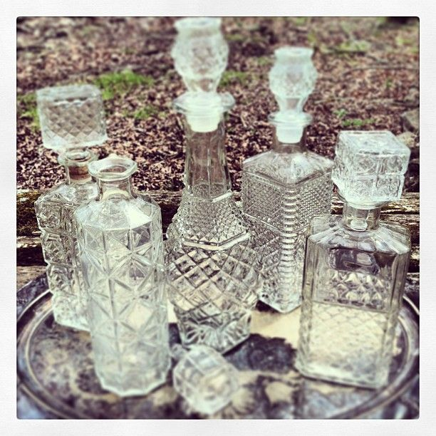 More decanter love in the collection! #vintage #weddings #whiskey #barware | Use Instagram online! Websta is the Best Instagram Web Viewer!