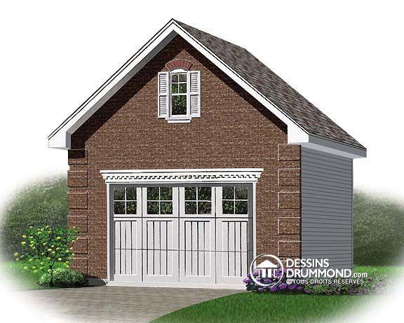 Coût de construction d'un garage détaché ?
