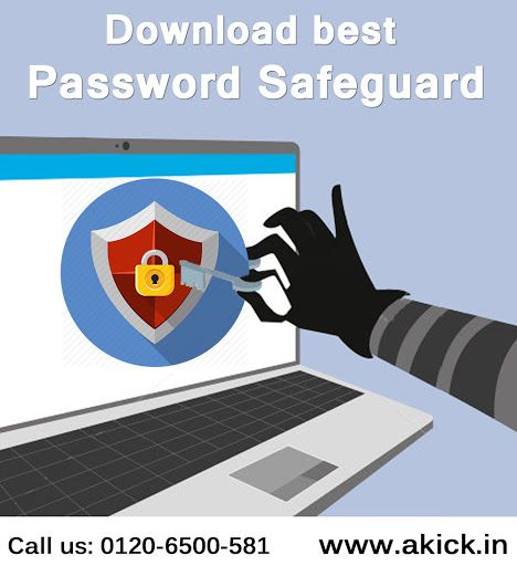 Akick - May be You forget your login, password and moreover personal information. No need to worry! Just try #Akick #Password #Safeguard tool and save it now safely for its future use.  https://www.akick.in/password-safeguard.php  Contact Info: Phone: 0120-650-581                  Email ID: support@akick.com