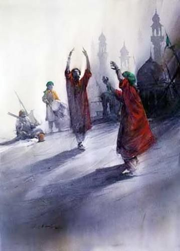 ali abbas paintings - Google Search