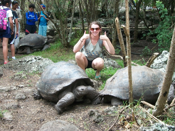 Slow and steady wins the race! A student on a Global Classroom Program in Ecuador.