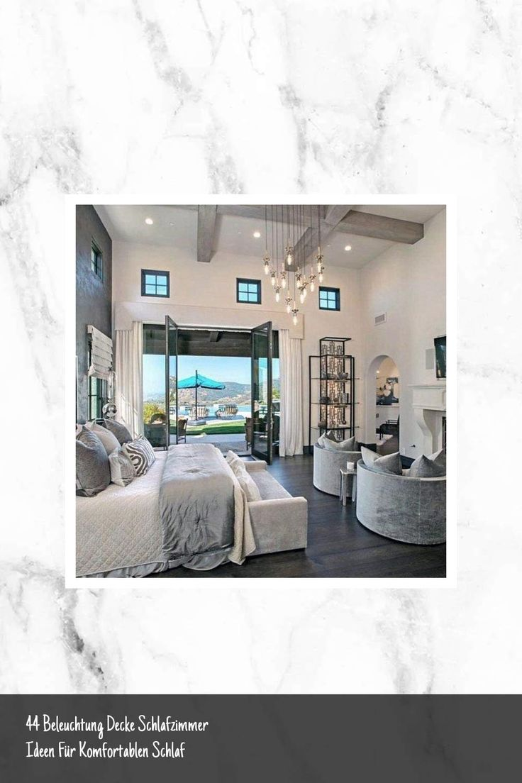 44 Beleuchtung Decke Schlafzimmer Ideen Fur Komfortablen Schlaf House Styles House Home Decor