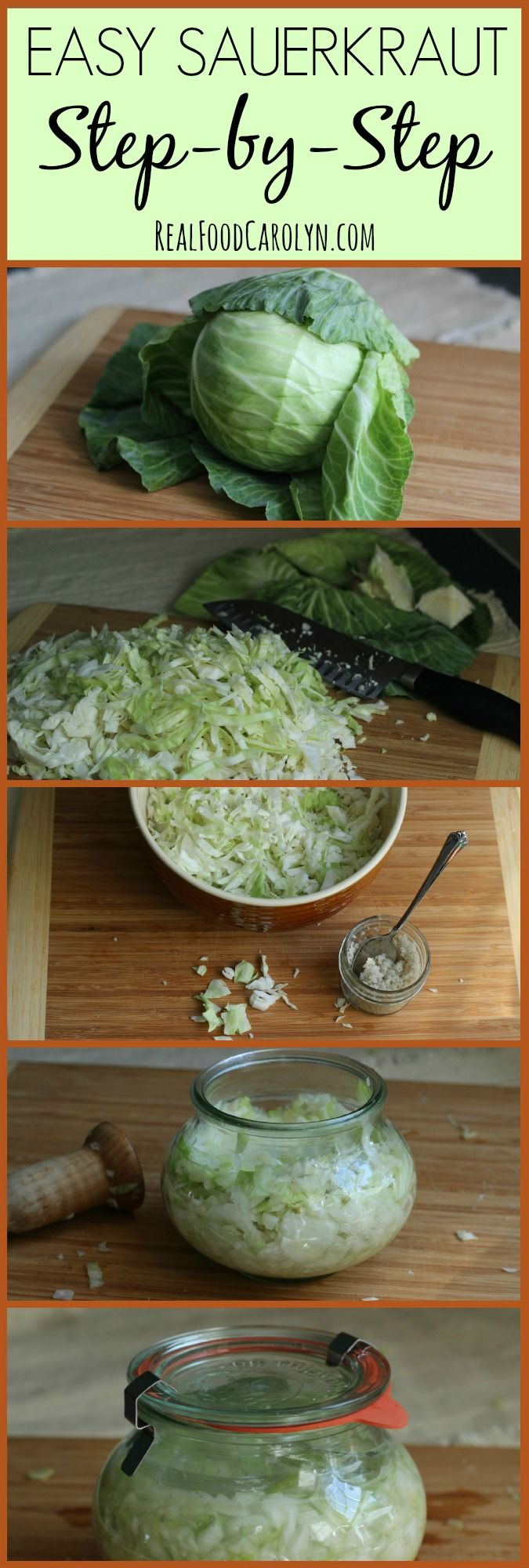 How to Make Sauerkraut … Step-by-Step! #probiotics #enzymes #TraditionalFood #WestonPrice #Paleo #digestion