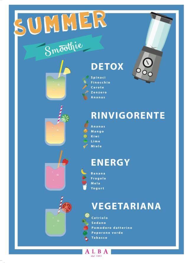 Cosa c'è di meglio per rinfrescare una calda giornata se non un centrifugato di frutta o di verdura?  Alba Caffè si sta preparando all'estate con le sue  centrifughe per ogni esigenza:  Detox Rinvigorente Energy  Vegetariana Vieni a provarle tutte e sceglie quella che più ti piace! #centrifughe #summerdrink #smothie #frutta #verdura #detox #energy #vegetariano #rinvigorente #albacaffè #alba