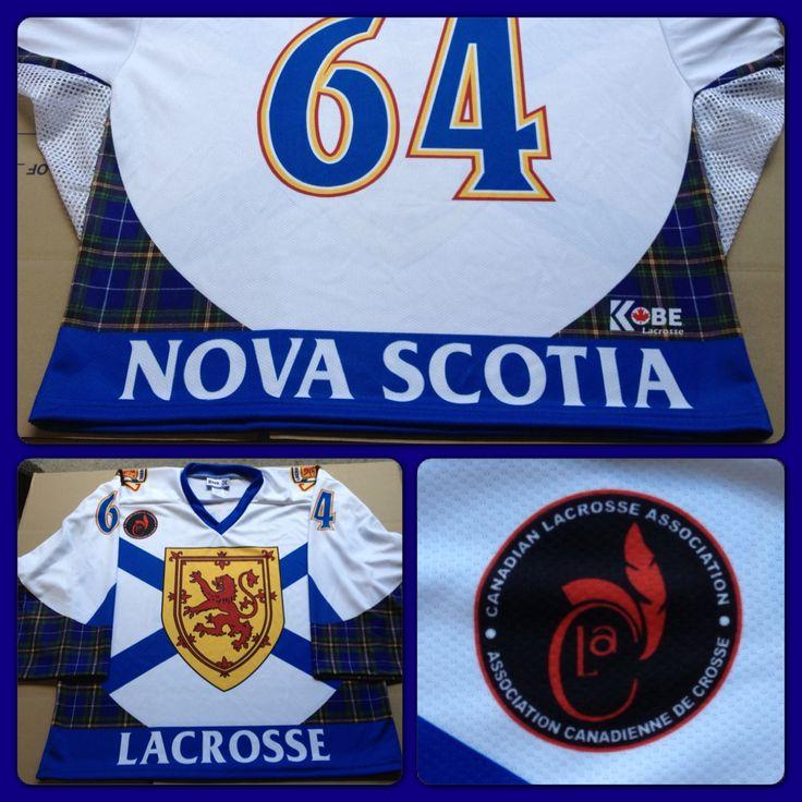 Custom Jersey of the Day! #KobeK3G #Lacrosse #NovaScotia