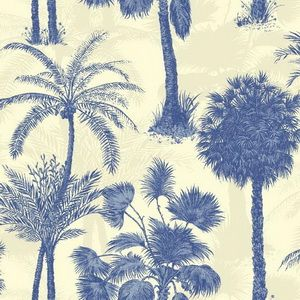 Hertex Fabrics - Coconut Grove Cobalt
