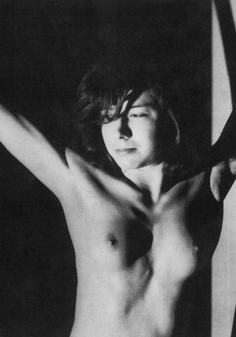 Patricia Highsmith (1921-1995) was uninhibited enough to pose for nude photos.