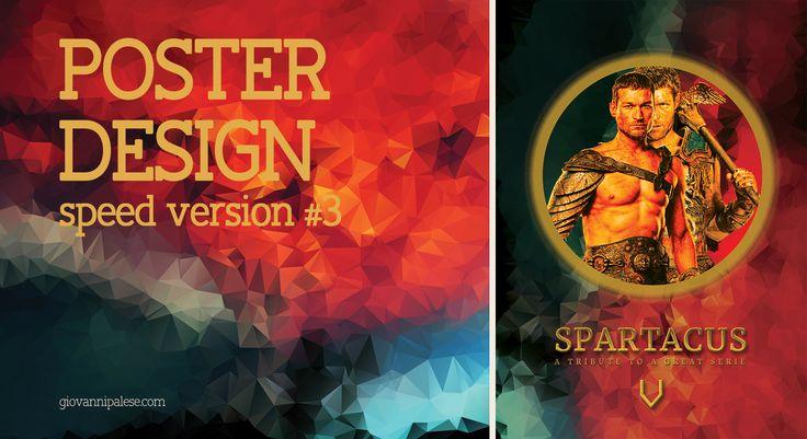 Poster Design with Photoshop - Speed Art #3 | Spartacus