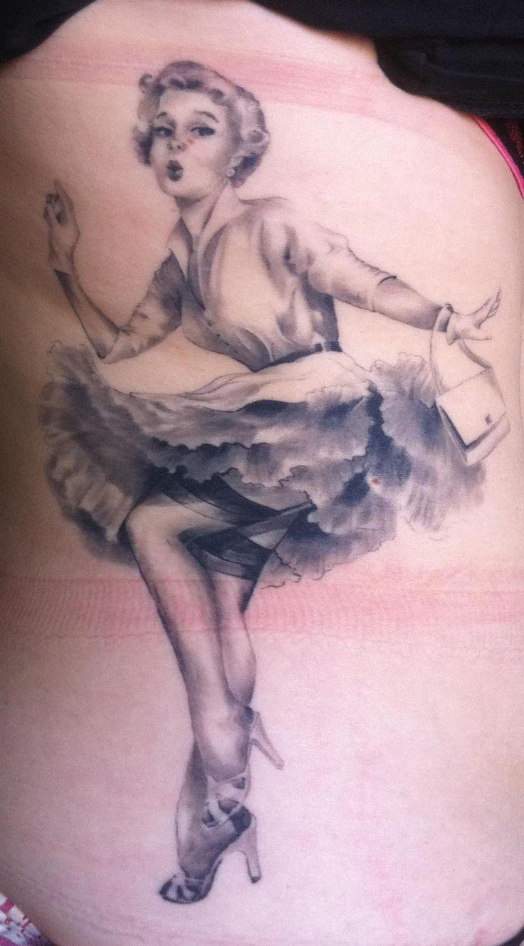 Pin Up Tattoo Girl - Marilyn Monroe