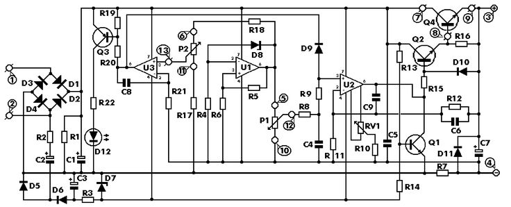 0-30 VDC STABILIZED POWER SUPPLY WITH CURRENT CONTROL 0.002-3 A ~ ELECTRONICS SOLUTION