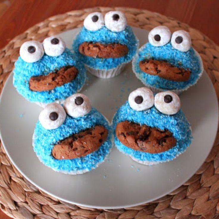Egal ob Kindergeburtstag oder Firmenfeier: Krümelmonster-Muffins sind auf jeder…