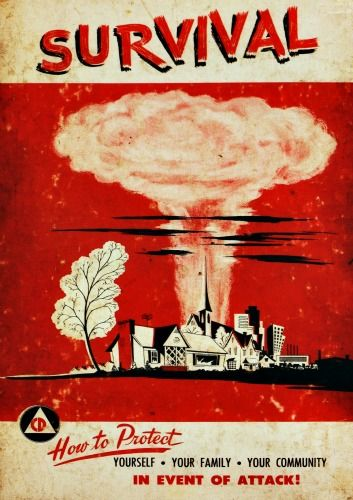 Survival: How to Protect Yourself in the event of an Atomic Attack.  Hanford, WA, Richland, WA