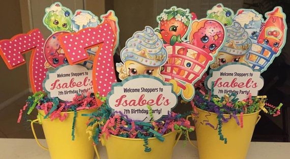 Shopkins centerpiece by NiftyKreations1 on Etsy