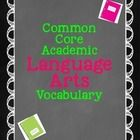 You can not go wrong with this purchase!  I have created a year long plan to introduce your students to a list of over 70 common core vocabulary te...