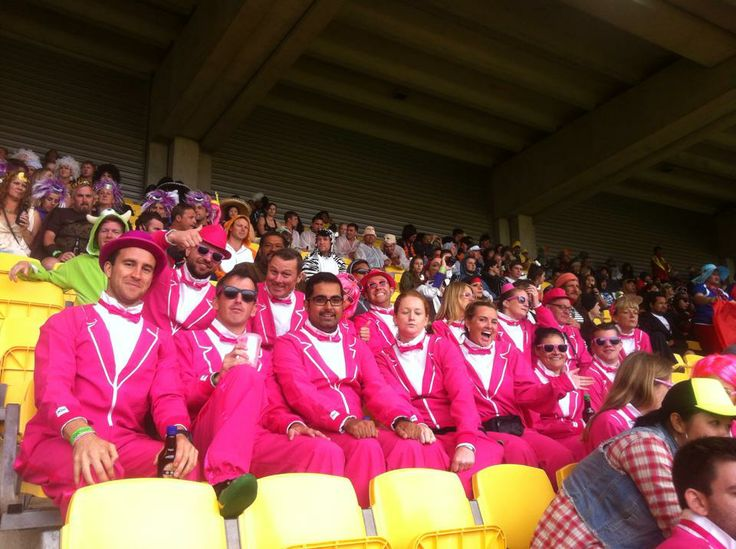 Traxedos at the Rugby Sevens New Zealand