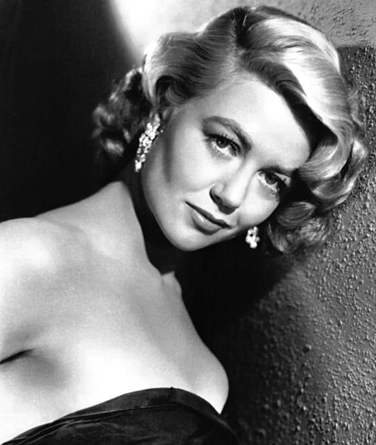 American actress Dorothy Malone, in a publicity photo for 'Written on the Wind' (1956).