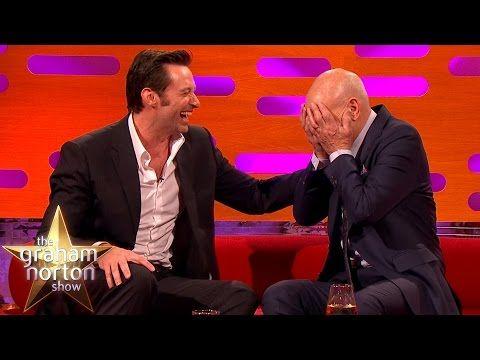 Hugh Jackman Loses It Over Sir Patrick Stewart's Ridiculous Circumcision Story -  Graham Norton Show - YouTube