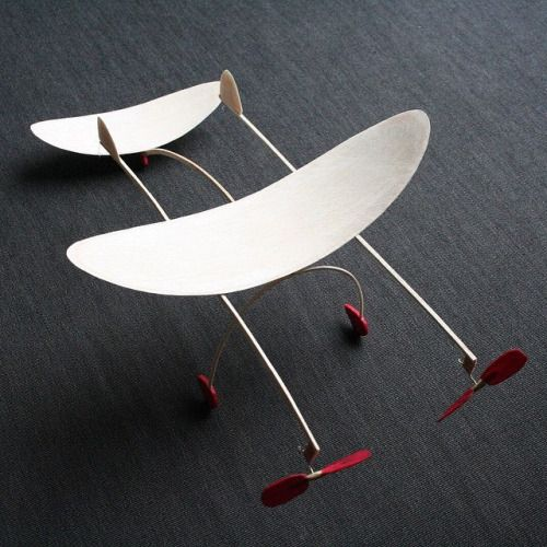New work. #kinetic #sculpture #flight #fly #air #art #airplane #aviation #engineering #wood #balsa #natural #nofilter #curve
