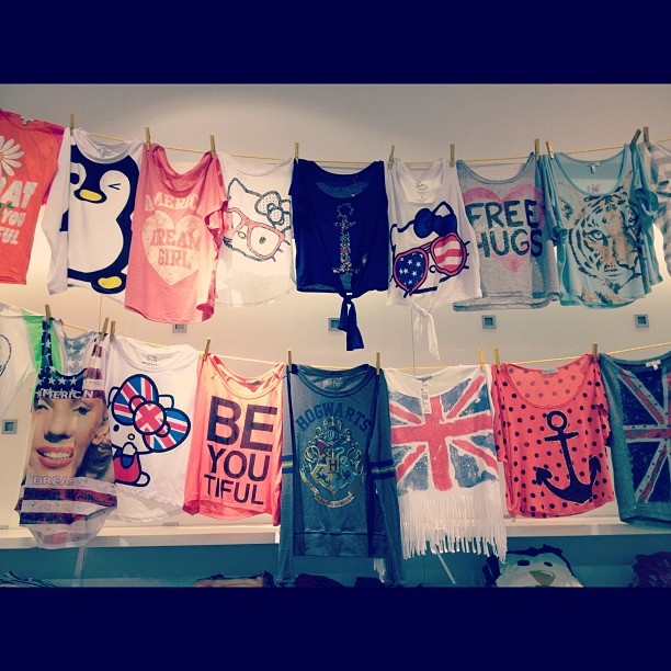 dELiA*s graphic tees!! love Delia's graphic tees!! so comfy and soft!!! <3
