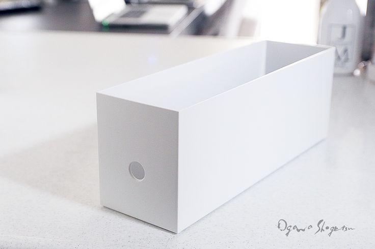 ★無印の新商品♪ ファイルボックス1/2を調味料収納におすすめする3つのポイント | インテリアと暮らしのヒント