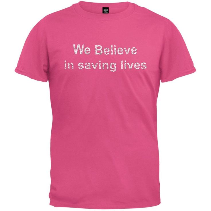Breast Cancer Awareness - Save the Ta-Tas - We Save Lives Soft T-Shirt