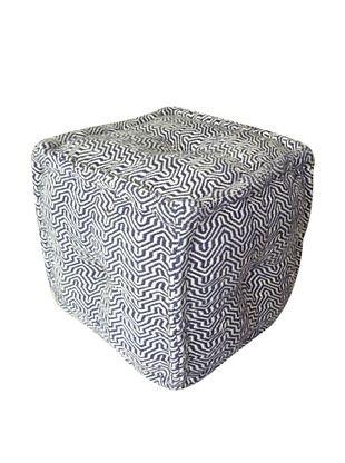 68% OFF Boheme Collection Cotton Pouf, Cube, Multi