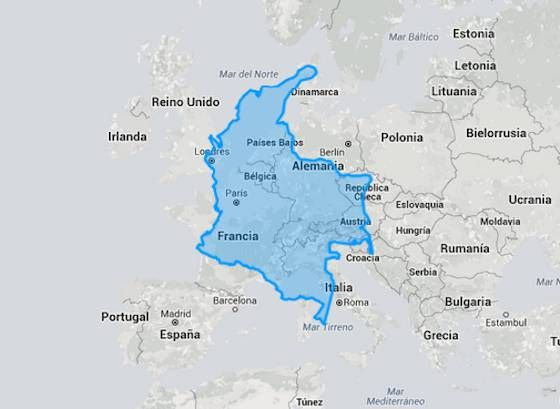9 best country comparison images on pinterest ecuador the map and colombia vs france gumiabroncs Gallery