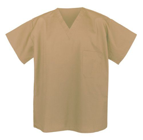 Khaki Scrub Shirts Sm Tan Apparel Scrubs For HIM or HER Broad Bay http://smile.amazon.com/dp/B00JH2PRGY/ref=cm_sw_r_pi_dp_jKvlub1VH4TQR