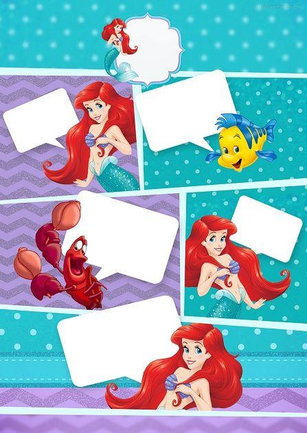 Kits de La Sirenita para imprimir gratis - descargar imagenes la sirenita - princesa ariel kits para descargar gratis - cumpleaños de la sirenita - tarjetas de la sirenita -marcos de la sirenita - imagenes de la sirenita - toppers de la sirenita -etiquetas de la sirenita - stickers de la sirenita -bolsas moldes de la sirenita - conos de la sirenita dulceros - candy bar de la sirenita - ideas decoracion de la sirenita - kits digitales de la sirenita -cajitas de la sirenita moldes…