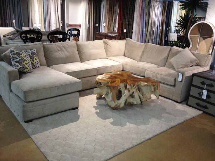 High fashion home sectional sofa basement pinterest for Sectional sofa redo