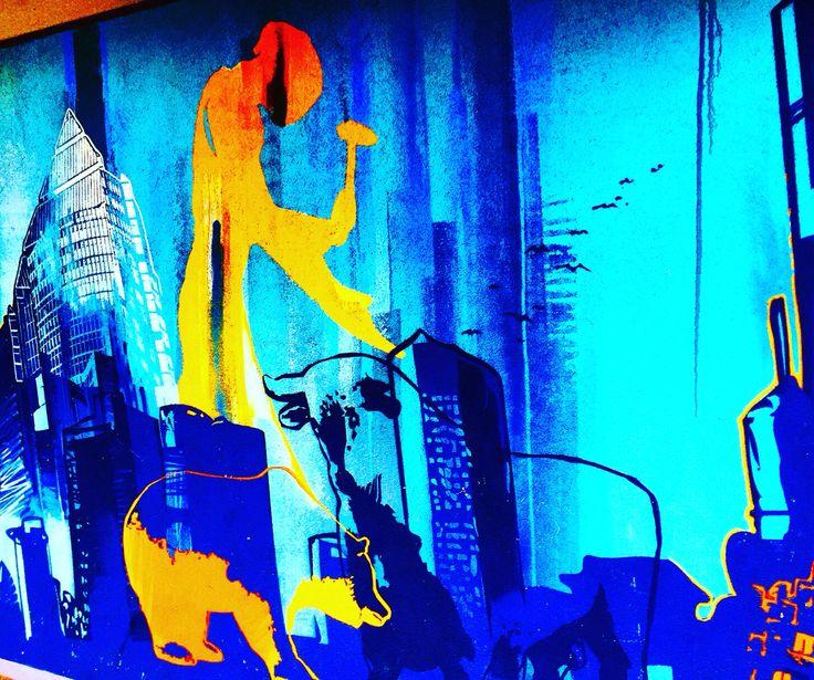 unbekanntes frankfurt frankfurt street views by jrgen schreiter streetart graffiti sprayer - Wandbemalung Modern