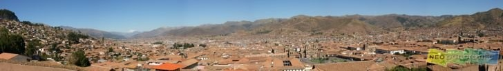 Cusco Rooftops Panorama