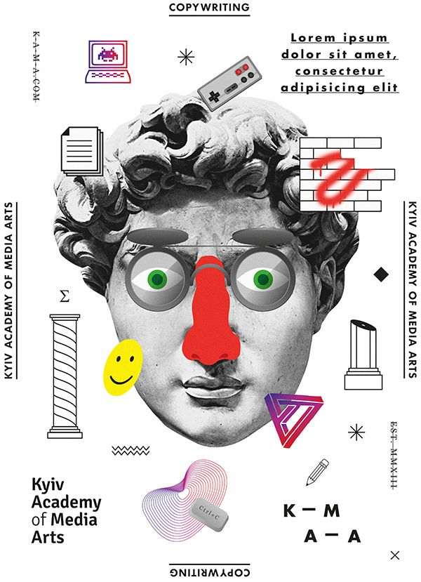 Designs for KAMA by Anton Abo, via Behance