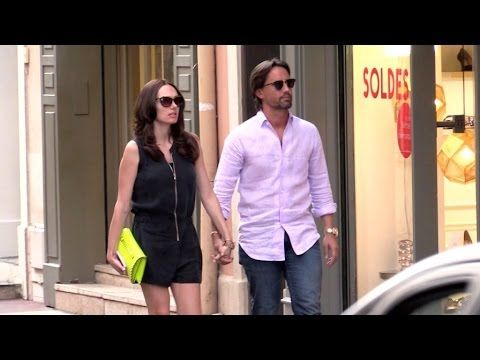 EXCLUSIVE - Tamara Ecclestone and husband Jay Rutland in Saint Tropez