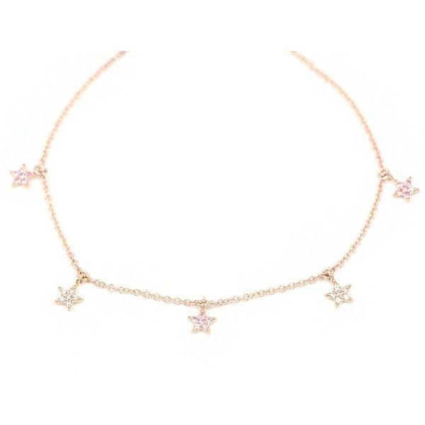 Diamond Bracelet 14K Solid Gold Bracelet Star Charm Bracelet Tiny Star (£205) ❤ liked on Polyvore featuring jewelry, bracelets, necklaces, yellow gold charm bracelet, gold diamond bangle, charm bracelet, diamond bangles and star charm bracelet