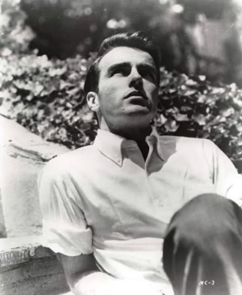 Montgomery Clift: Makes me wanna whisk myself back to the 50's to Hollywood's age of glamor